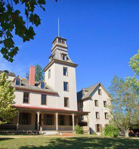 mansion at Batsto Village