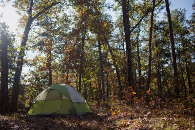 camping at Atsion Lake and Goshen Pond. © Jessica Kizzman