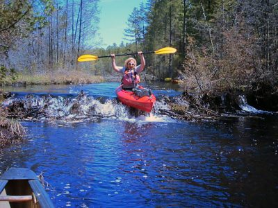Ericka-blank-kayak-beaver-dam