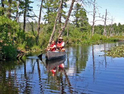 Mullica River canoeing in the Pine Barrens