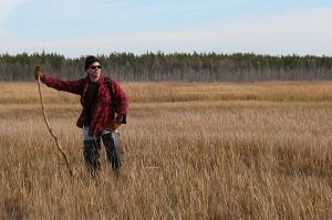 Pinelands Adventures' Jeff Larson is a skilled Pine Barrens guide.